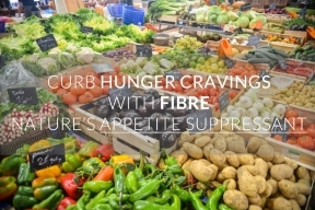 curb hunger cravings with fibre