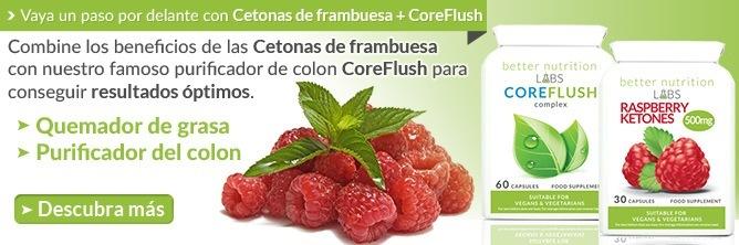 ¿Cuál es la dosis recomendada de extracto de cetonas de frambuesa (raspberry ketones)?