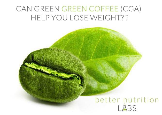 Can Green coffee bean CGA Help You lose Weight