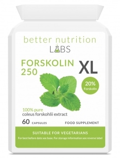 Forskolin XL 244x321 - Etude : Quels sont les meilleurs brûleurs de graisse thermogéniques naturels ?