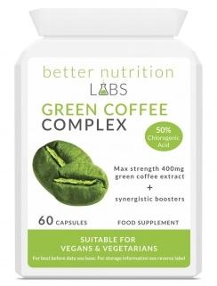 Green Coffee Complex 244x321 - Etude : Quels sont les meilleurs brûleurs de graisse thermogéniques naturels ?