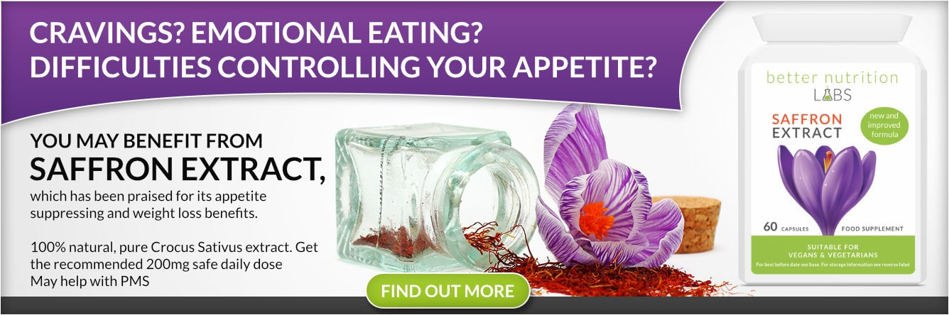 Buy Saffron Extract Supplements Target Cravings Suppress Appetite