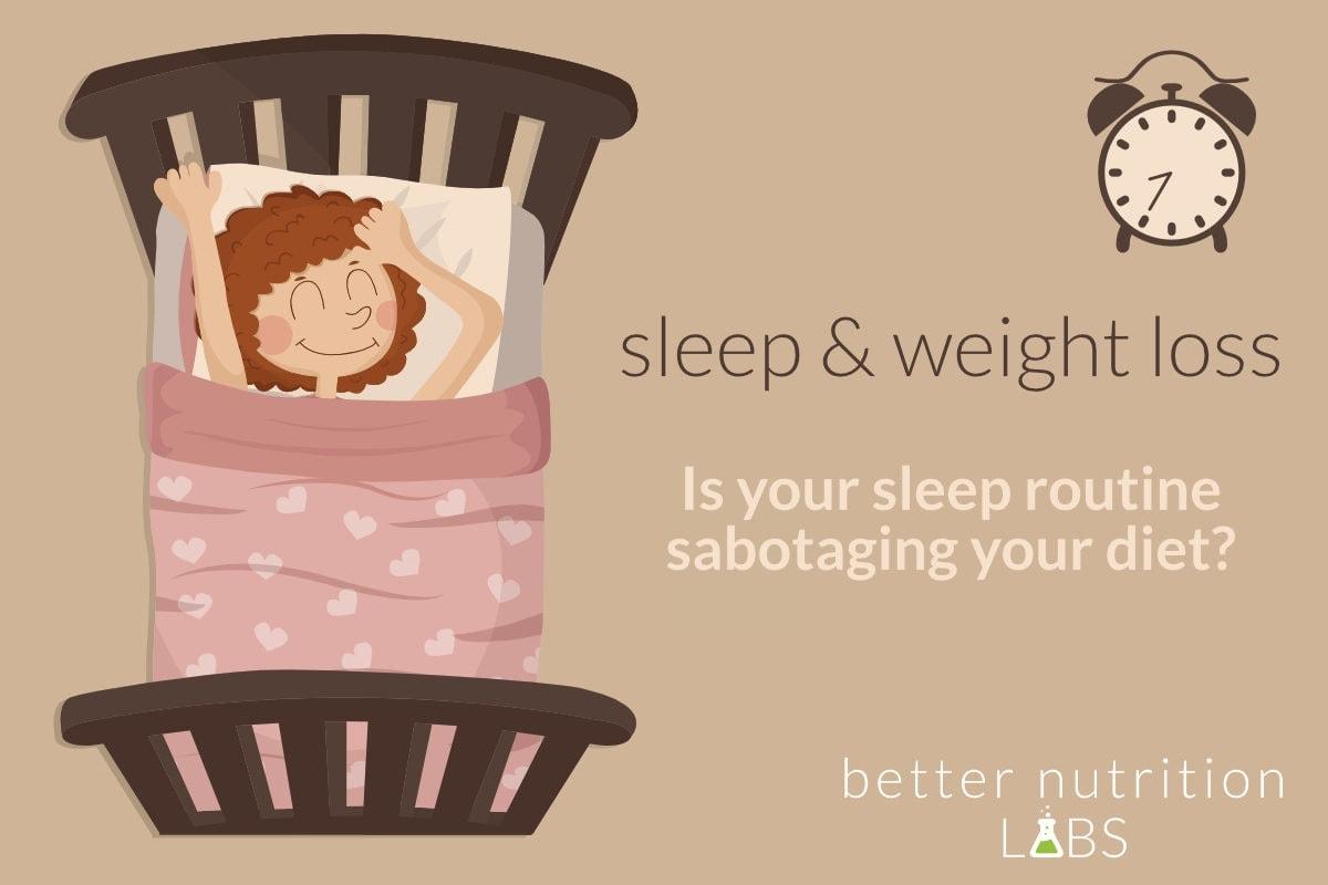sleep and weight loss 1 - Sleep and weight loss - Is your sleep routine sabotaging your diet?