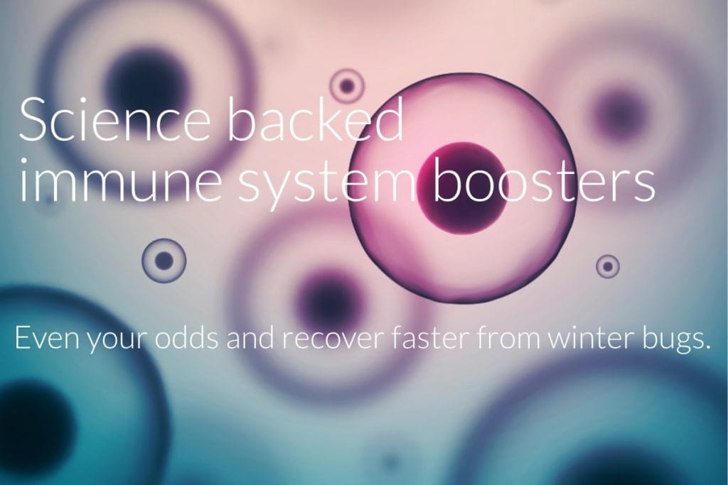 Science backed immune system boosters